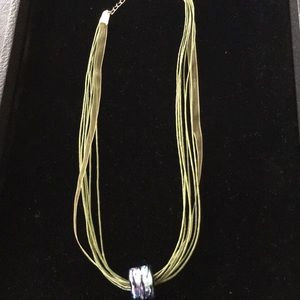 Ribbon/cord Necklace.